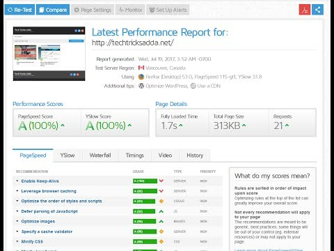how to improve site speed in cpanel