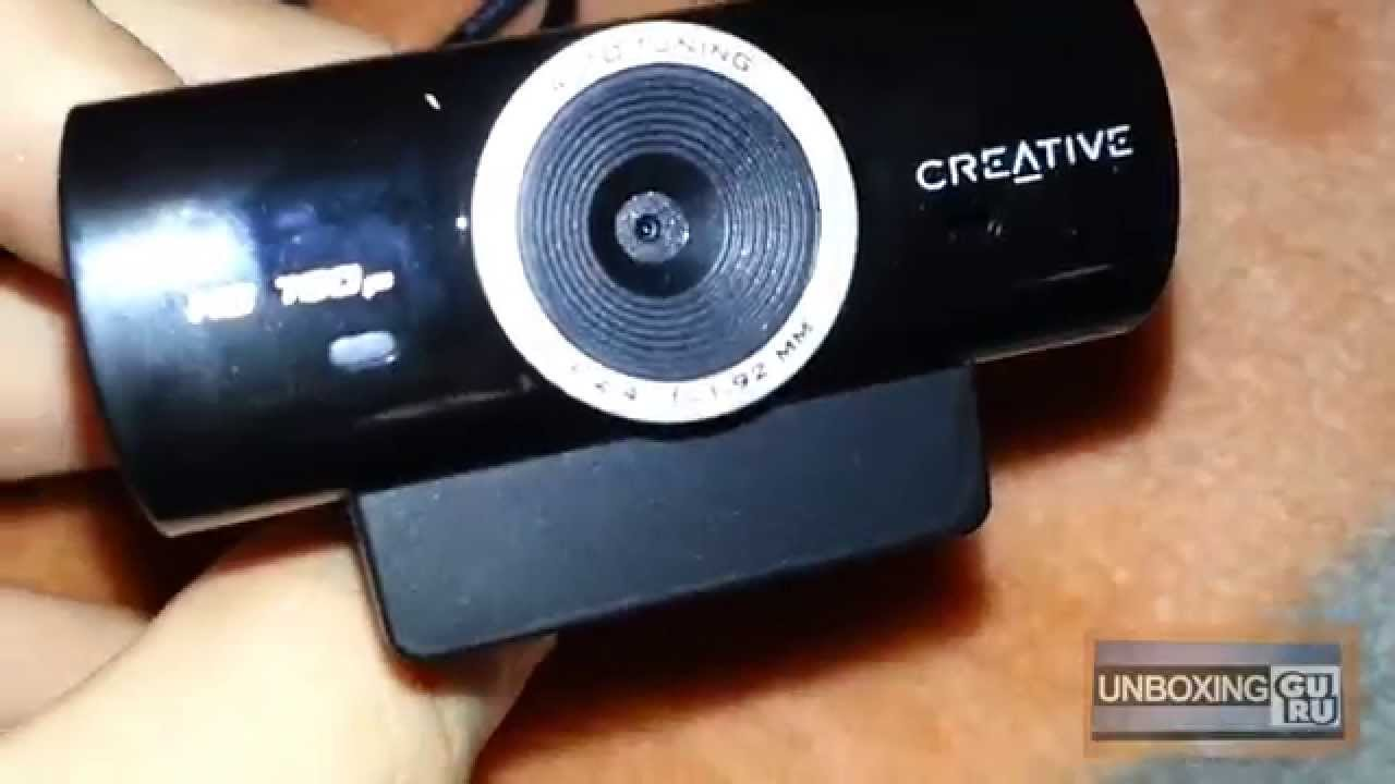 Creative Live! Cam Sync HD (VF0770) Webcam Drivers Windows 7
