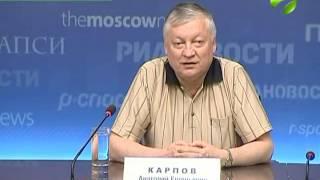видео Биография Анатолия Евгеньевича Карпова