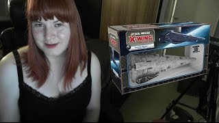 Let`s Talk about X: X-wing Miniatures - Imperial Raider class Corvette