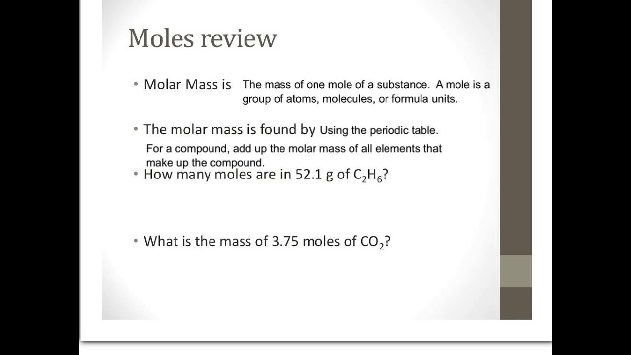 worksheet Empirical Formulas Worksheet chem unit 8 review of mole mass calcs youtube
