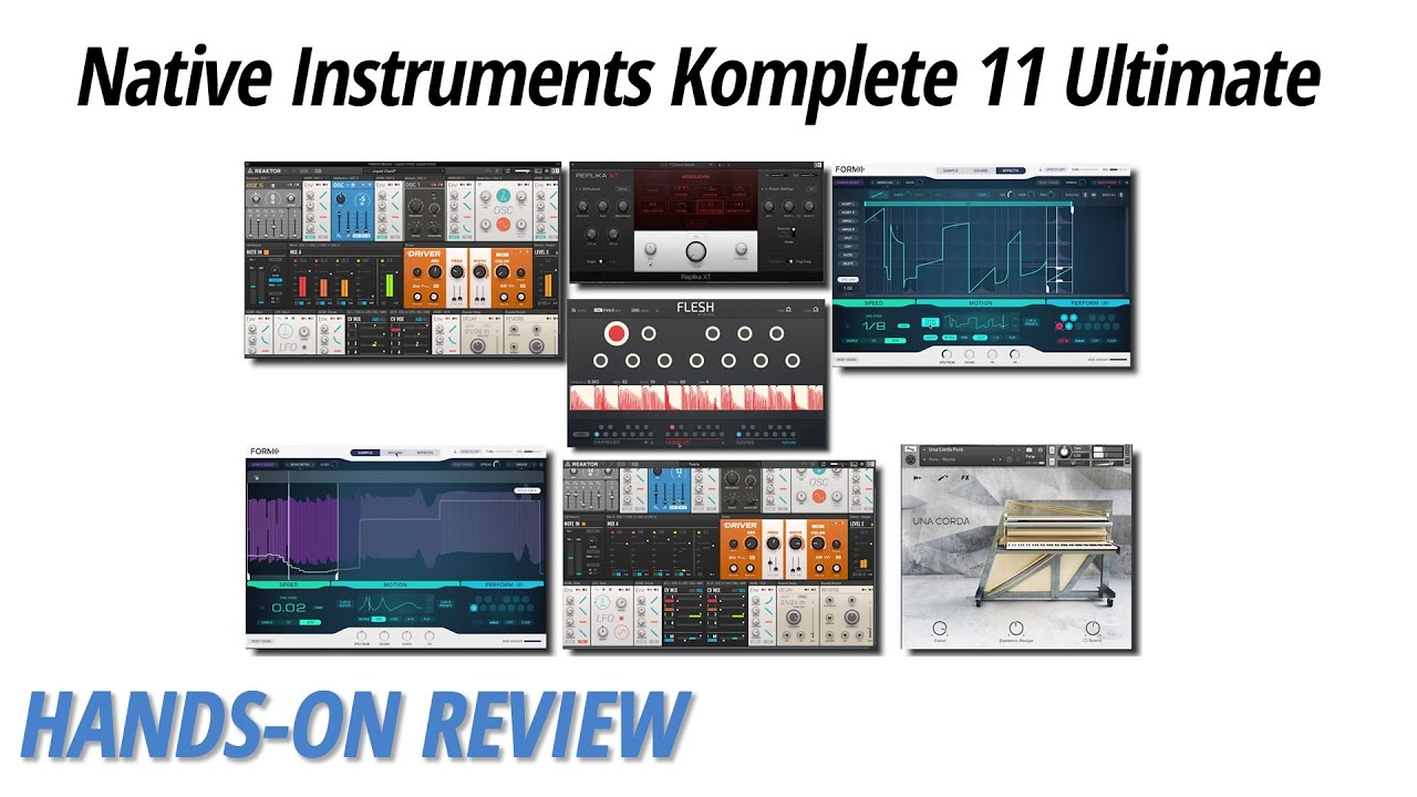 Hands-On Review: Native Instruments Komplete 11 Ultimate