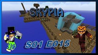 Skypia [S01 E015] -| Der Cobblestone Generator |- ⇒ Minecraft Let`s Play