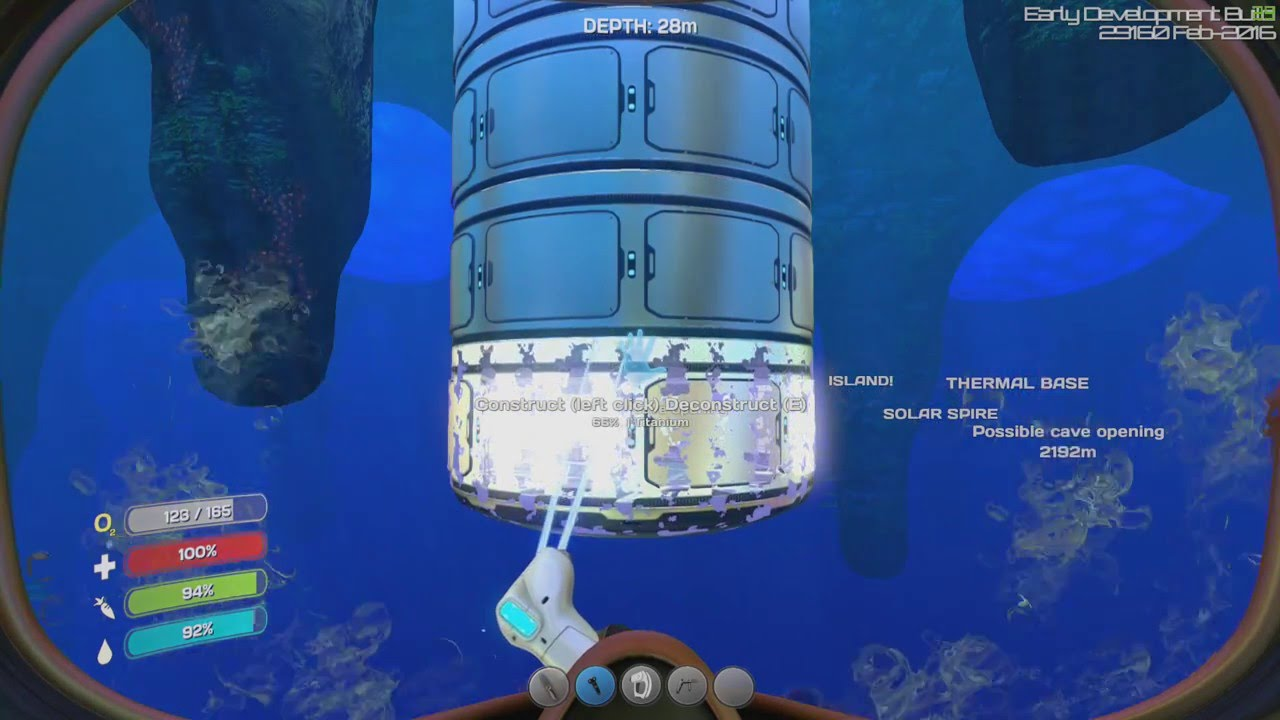 subnautica how to get to floating island