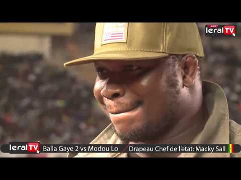 Le bak de Tapha Tine lors du combat Balla Gaye 2 - Modou Lo