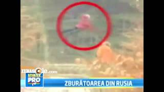 Floating Video of a girl in the woods shows on Russian News Broadcast ( New 2013)