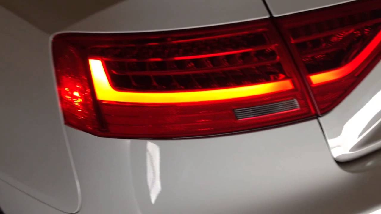 Audi A5 W 2013 Facelift Led Tail Lights Youtube