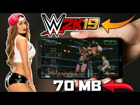 [70 MB] DOWNLOAD WWE 2K19 PPSSPP GAME FOR ANDROID | JUST 70 MB | WORKING IN ALL DEVICES