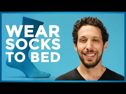 Wear-Socks-to-Bed-DubsLabs-Sleep-Hacks