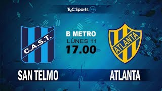 San Telmo vs Atlanta full match