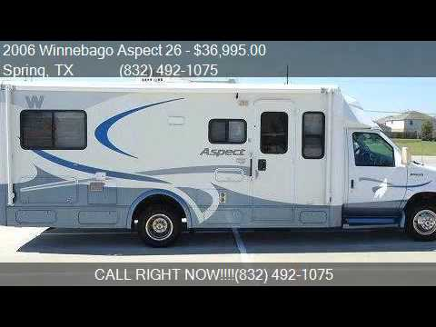 2006 Winnebago Aspect 26 For Sale In Spring TX 77388 At To