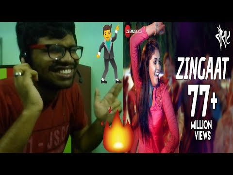Zingaat - Official Full Video|Sairat|Akash Thosar & Rinku Rajguru|Ajay Atul|Reaction & Thoughts