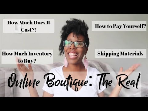 ONLINE BOUTIQUE REAL DETAILS | Investment, LLC, Inventory, Marketing, Shipping + MORE