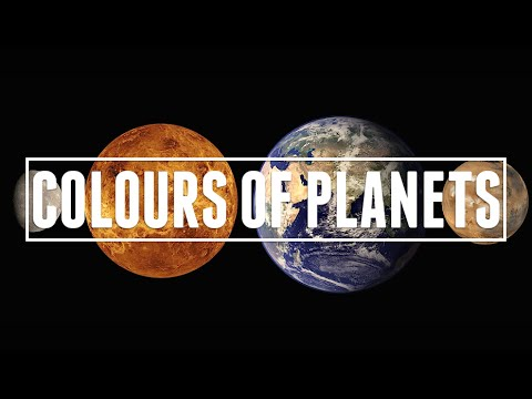 Colours of the Planets