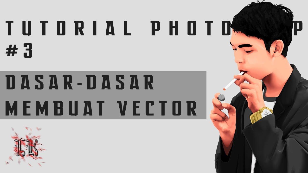 Tutorial membuat vektor kartun photoshop part 2 coloring and shading - Tutorial Photoshop 3 Make A Basic Vector Masking