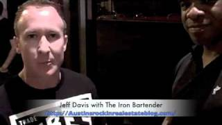 Interviewing Jeff Davis with The Iron Bartender