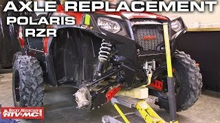 Polaris RZR Axle Replacement