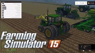 Farming simulator 2015 JohnDeere tractors mods
