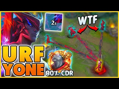 The YONE MECHANIC you've NEVER SEEN BEFORE (1st URF YONE) - BunnyFuFuu | League of Legends