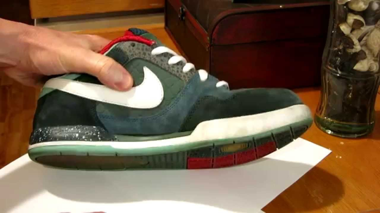 How To Make Your Shoes White Again - Nike Paul Rodriguez Shoes Used