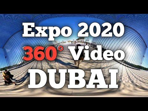 Expo 2020 Dubai in 360° | Terra Pavilion Tour