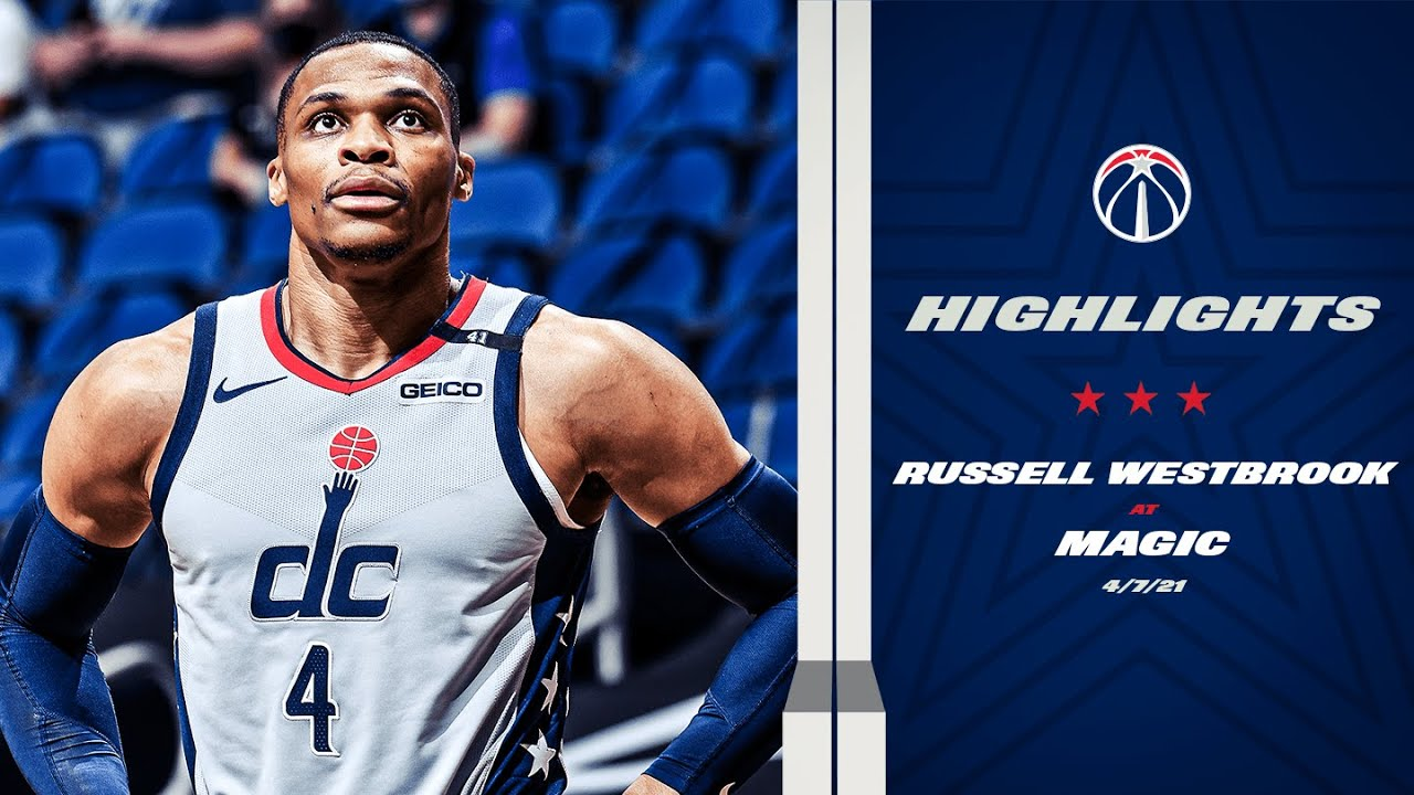 Highlights: Russell Westbrook Drops Triple-Double at Magic - 4/7/21