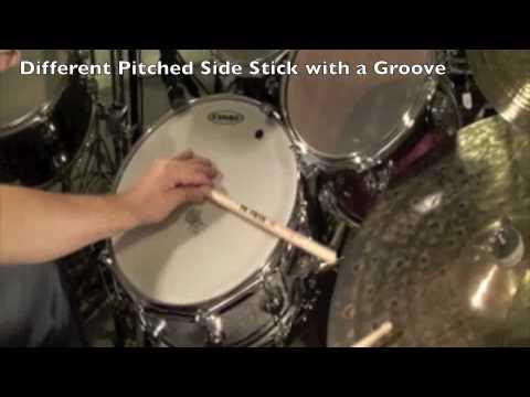 Side Stick - Drum Lesson - Billy Ashbaugh