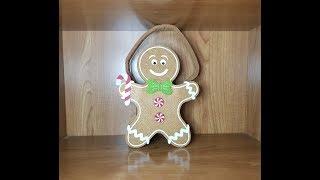 Cesta Galleta de Shrek/ galleta de jengibre. Gingerbread box. Review letig99
