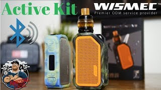 Wismec Active 80w Kit Review | Bluetooth Speaker!