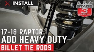 2010-2018 Raptor ADD Heavy Duty Billet Tie Rod Kit Install