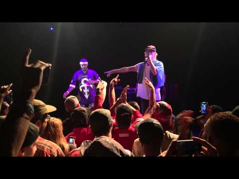 """Asher Roth and Chuck Inglish - """"That's Cute"""" (Live) at Echoplex in L.A. [6/30/15]"""