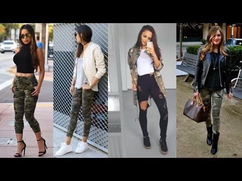 Outfits Camuflados 2018 2019 Youtube