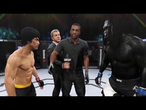 bruce-lee-vs.-king-kong-(ea-sports-ufc-2)---cpu-vs.-cpu