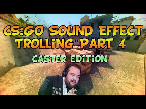 Caster Reactions In CS:GO Matchmaking [Sound Trolling 4]