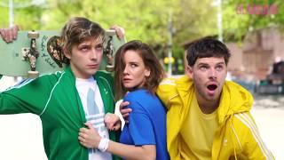 Актеры фильма «Лето» примеряют самые модные спортивные костюмы лета-2018