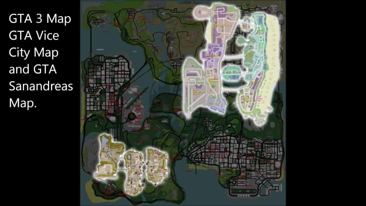 Gta 5 Map Leak GTA 5 Leaked Map - Evi...
