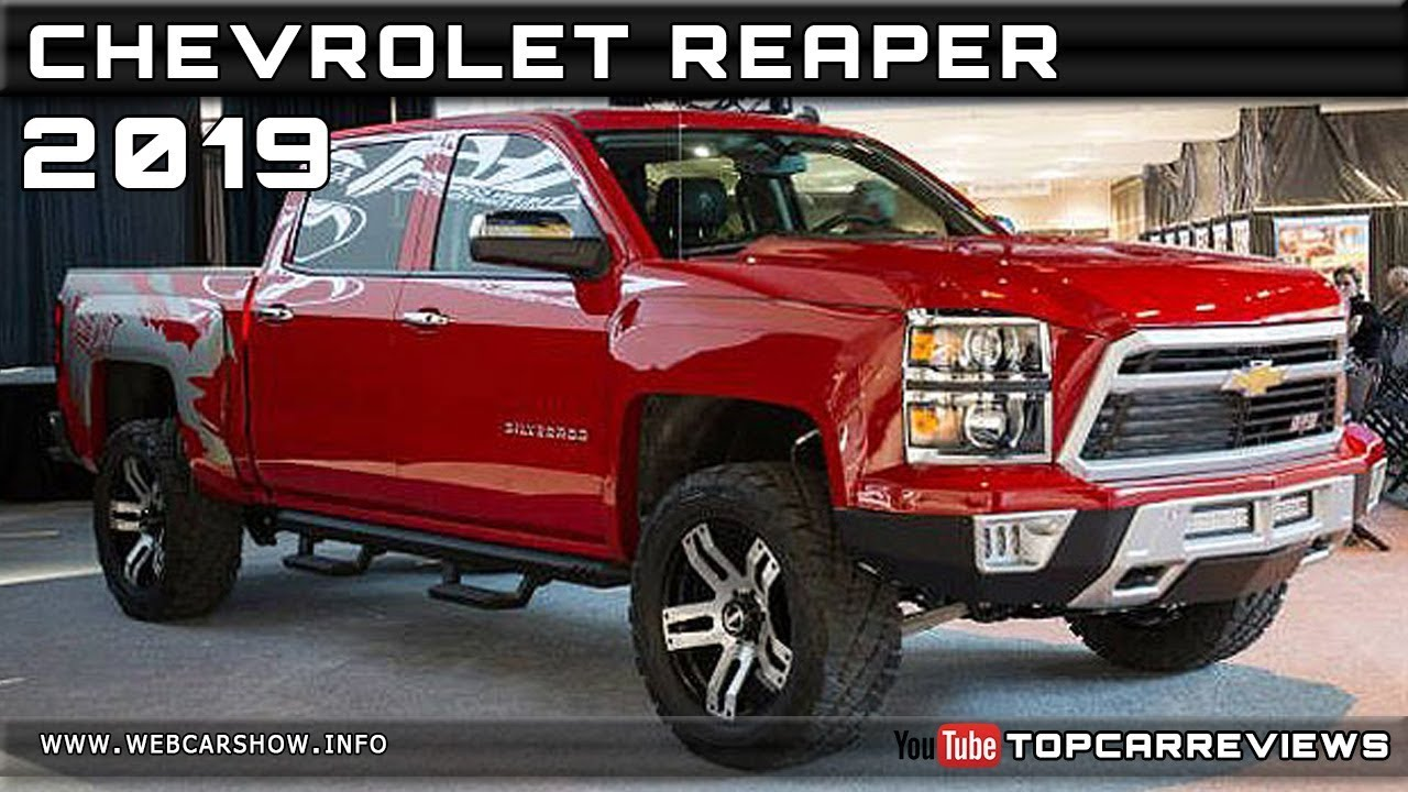 Chevy Reaper For Sale >> 2019 Chevrolet Reaper Review Rendered Price Specs Release Date Youtube