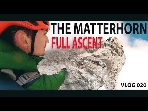 VLOG 020: Climbing The MATTERHORN (My 3 Year Journey of Preparation) – The Mountain of Mountains