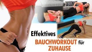 Bauchworkout für Zuhause - Effektives Bauchtraining - Intensives Bauchmuskeltraining