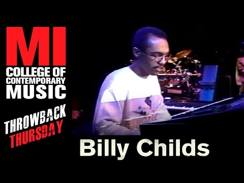 Billy Childs Throwback Thursday From the MI Vault 1989
