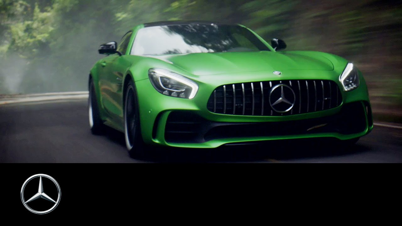 Beast Of The Green Hell Mercedes Amg Gt R And Lewis