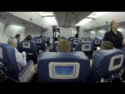 Delta Airlines 767-300 first class San Diego to Atlanta