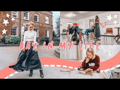 Day In My Life at East 15 Acting School | Drama School | MA Acting