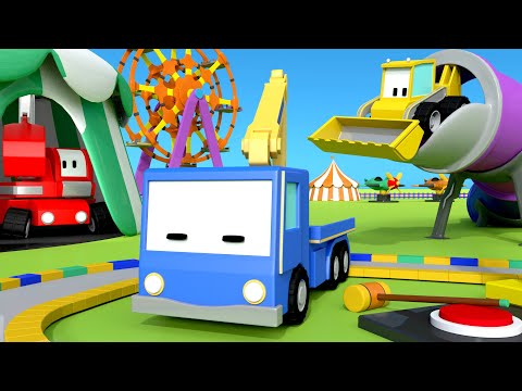 Игра в прятки с Малышами-грузовичками 👶 🚚 бульдозер, кран, экскаватор, обучающий мультфильм