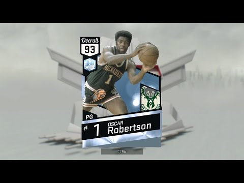 NBA2k17 MyTeam - Diamond Oscar Robertson Review