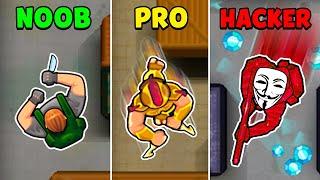 NOOB vs PRO vs HACKER - Hunter Assassin screenshot 1