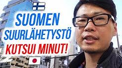 Suomen suurlähetystö kutsui minut!