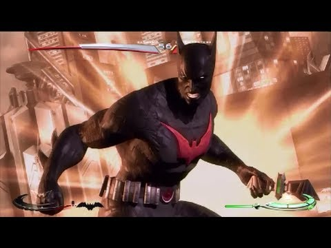 Batman Beyond Costume: Injustice Gameplay - YouTube