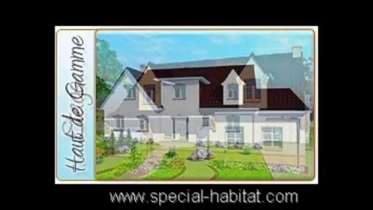 Vue 3d building a for Plan 3d maison contemporaine