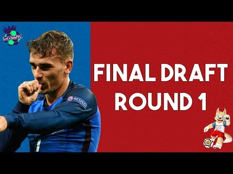 FINAL DRAFT  STRATEGY  ROUND 1  WORLD CUP TASY FOOTBALL 2018